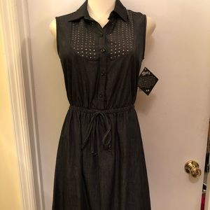 Denim dress NWT